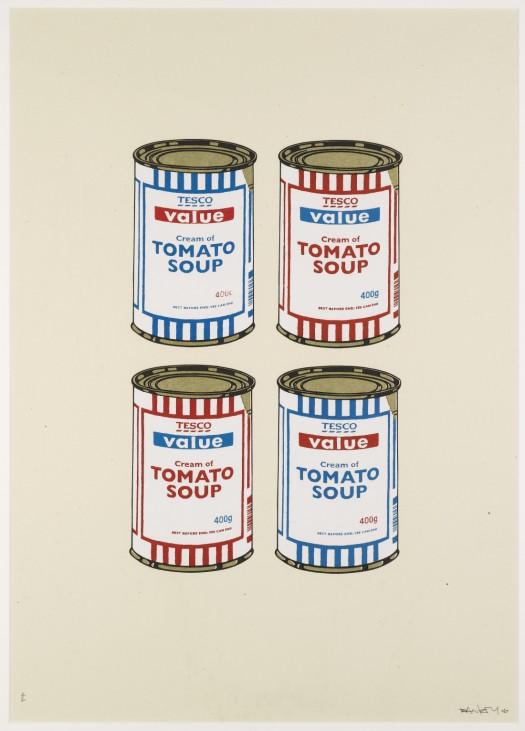 Soup Cans, Künstler: Banksy