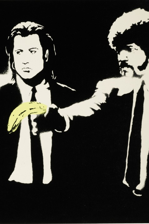 Pulp Fiction von Banksy