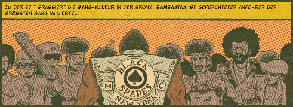 """Hip Hop Family Tree"" von Ed Piskor"