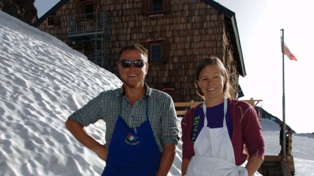 Lukas Lantschner Heidi von Wettstein Müllerhütte Stubaier Alpen Österreich