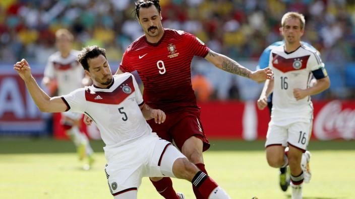 World Cup 2014 - Beim Barte des Profis