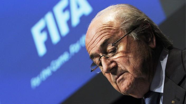 Fußball, Fifa, Sepp Blatter
