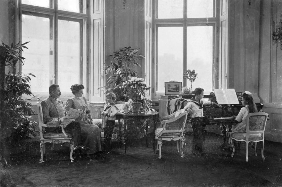 Erzherzog Franz Ferdinand mit seiner Familie, 1910