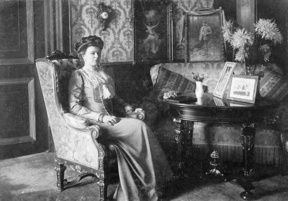 Sophie Herzogin von Hohenberg, Gattin des Erzherzogs Franz Ferdinand, 1911