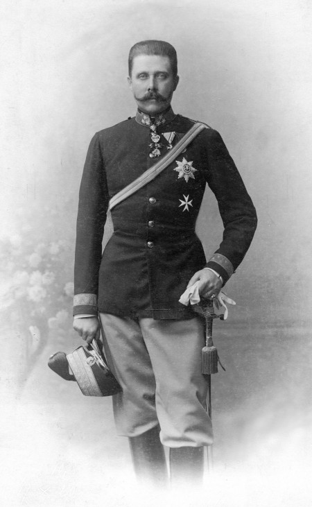 Erzherzog Franz Ferdinand, 1910