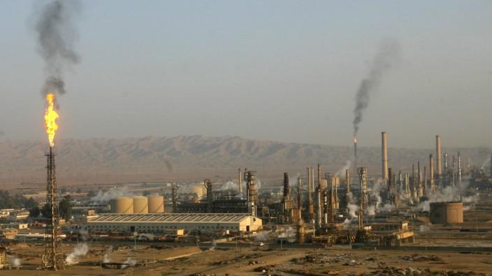 Isis Irak Raffinerie Baidschi Bagdad