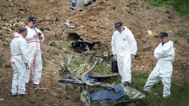 Flugzeug über dem Sauerland abgestürzt
