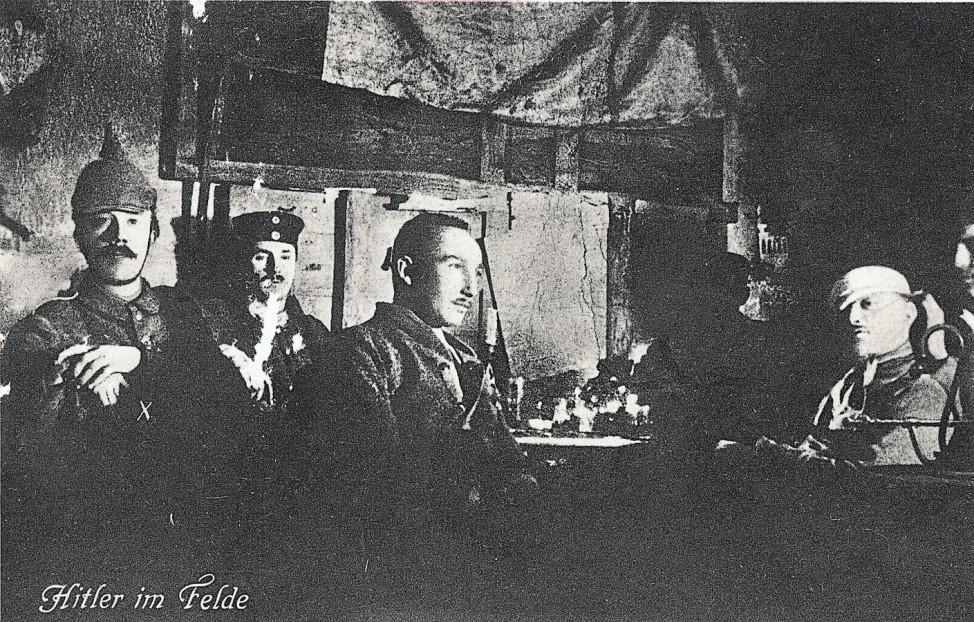 Hitler im 1. Weltkrieg