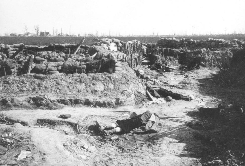 Schlachtfeld von Langemarck, 1914