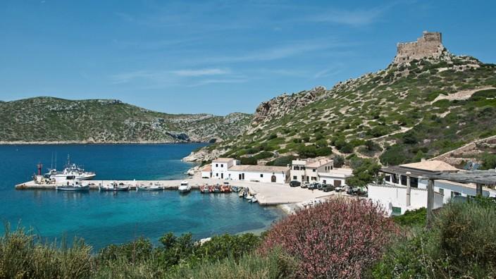 Cabrera Gran Spanien Balearen Insel