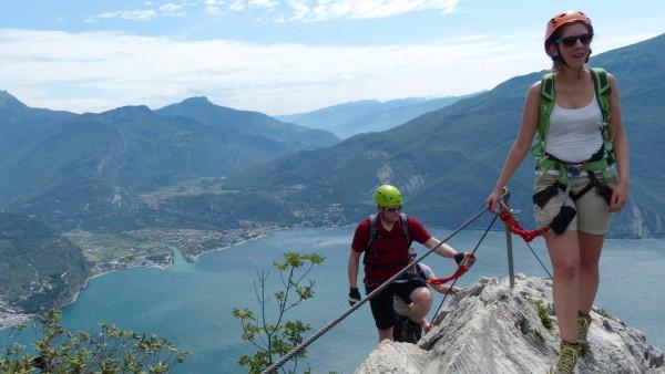 Klettersteig Gardasee Via Ferrata F. Susatti