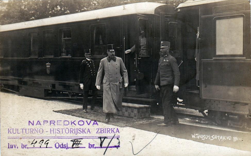 Erzherzog Franz Ferdinand Österreich Sarajevo 1914