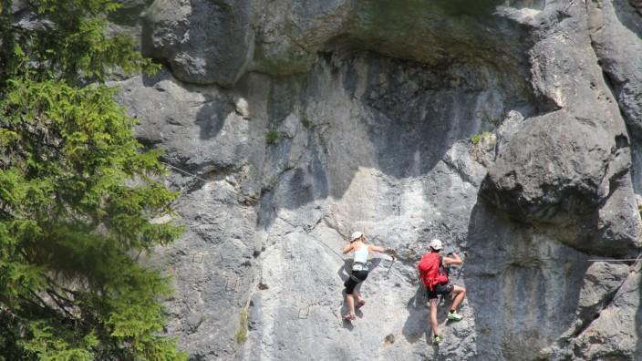 Klettersteig Reit im Winkl
