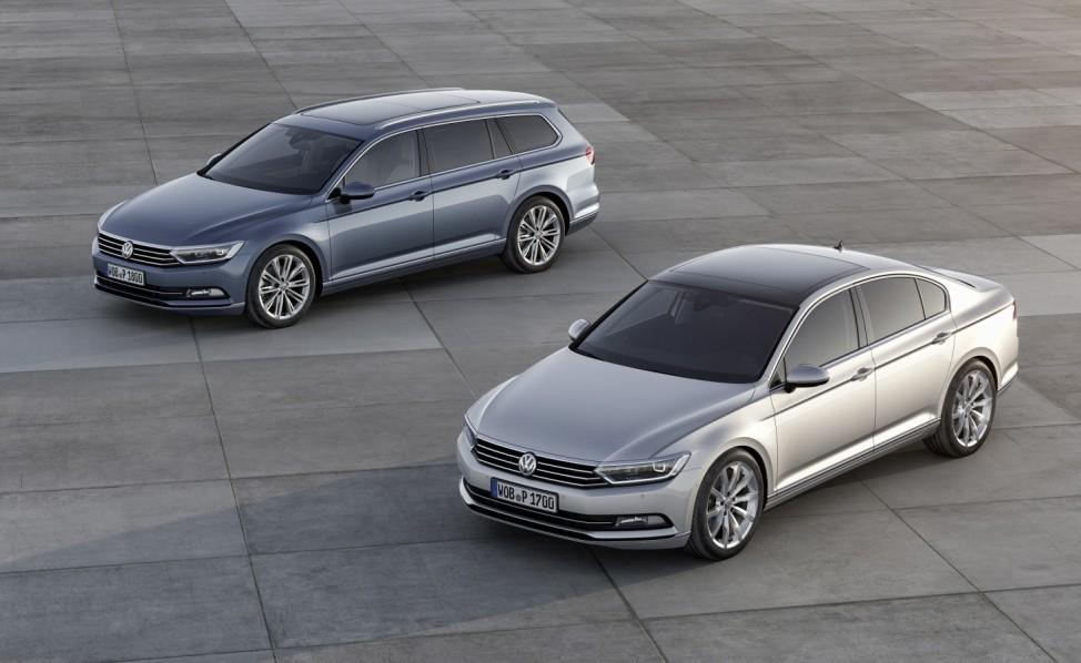 VW Passat 2014, Variant und Limousine