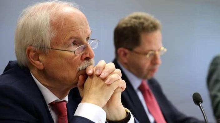 Harald Range und Hans-Georg Maaßen Akademie für Politische Bildung Tutzing