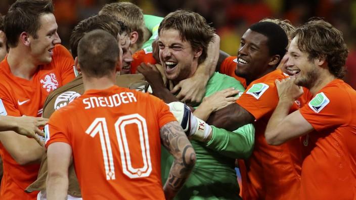 World Cup 2014 - Quarter final - Netherlands vs Costa Rica
