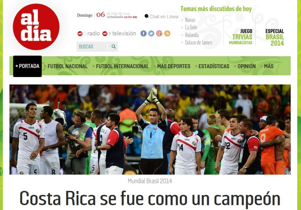 Pressestimmen Costa Rica