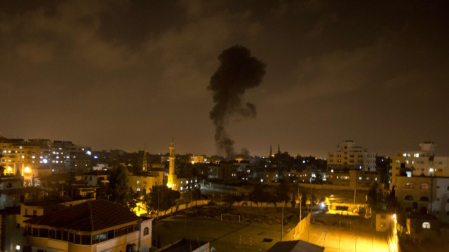 PALESTINIAN - ISRAEL - CONFLICT -ATTACK