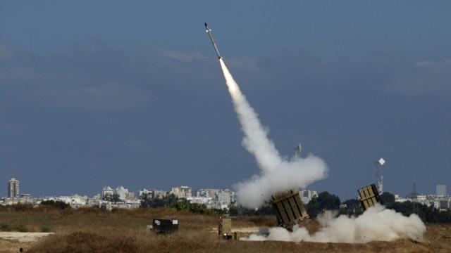 Raketenabwehrsystem in Ashdod, Israel