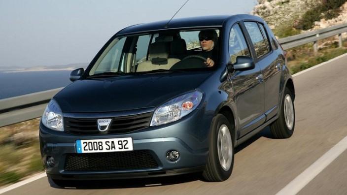 Billig und erfolgreich: der Dacia Sandero