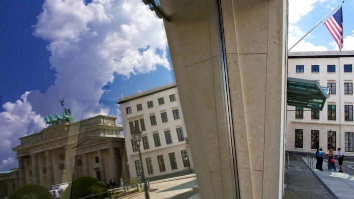 US-Botschaft in Berlin Brandenburger Tor Spionage