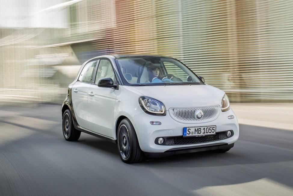 Der neue Smart Fourfour 2014
