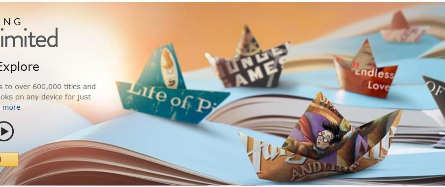"Kindle Unlimited: Amazon testet E-Book-Flatrate ""Kindle Unlimited"""