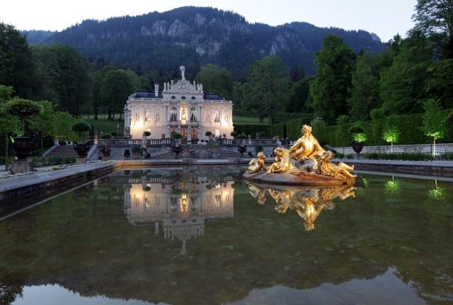 Schloss Linderhof im Graswangtal, 2011