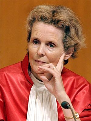 Prof. Dr. Gertrude Lübbe-Wolff; dpa
