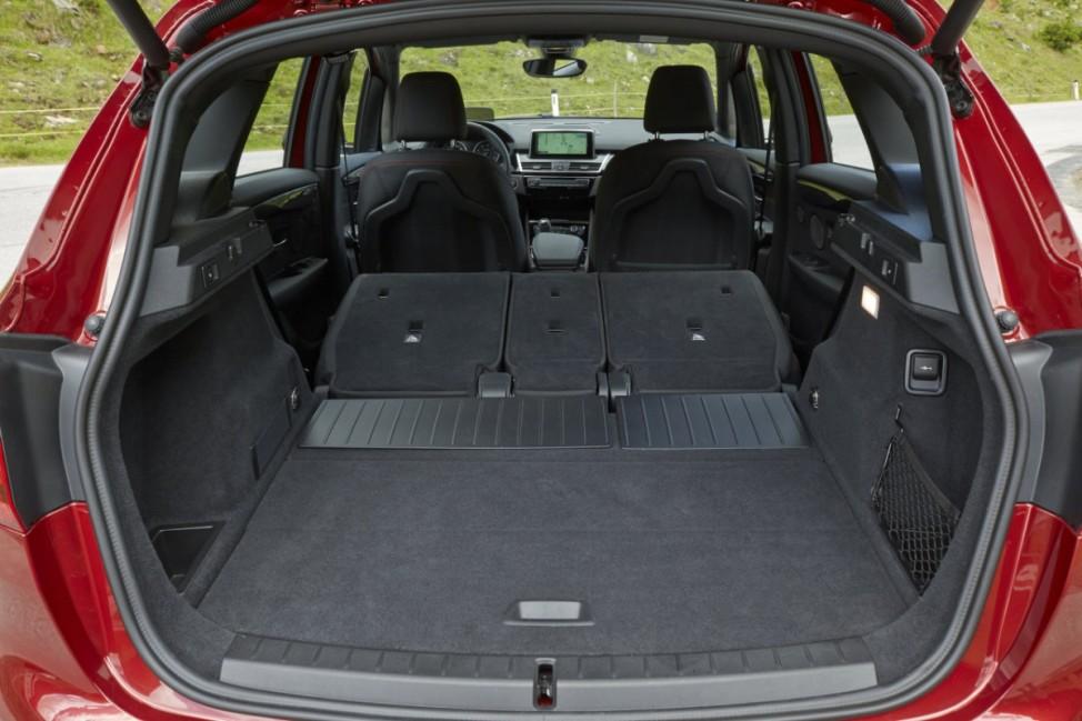 Der Kofferraum des BMW Zweier Active Tourer