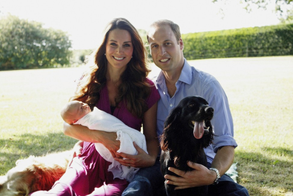 FILE: Prince George To Celebrate His First Birthday On Tuesday 22nd July