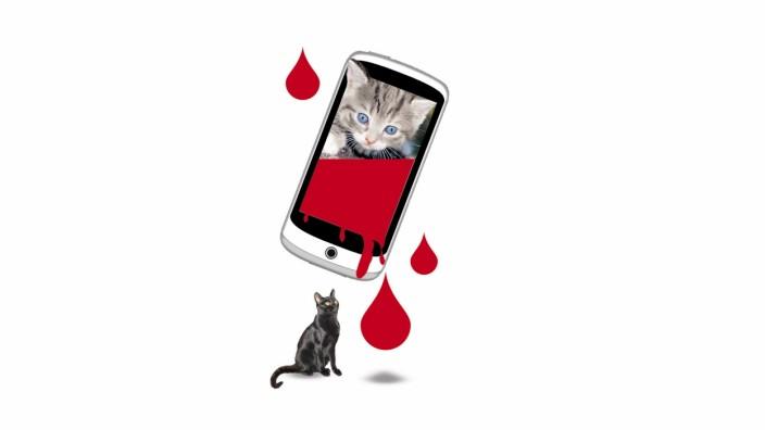 """""""Schön doof"""": Anteilnahme auf Facebook: Blutige Realität zwischen Katzenvideos: Wer grausame Bilder getöteter Kinder teilt, will zeigen, dass er vor keinem Anblick zurückschreckt, um sein Interesse an der Weltrettung zu symbolisieren."""