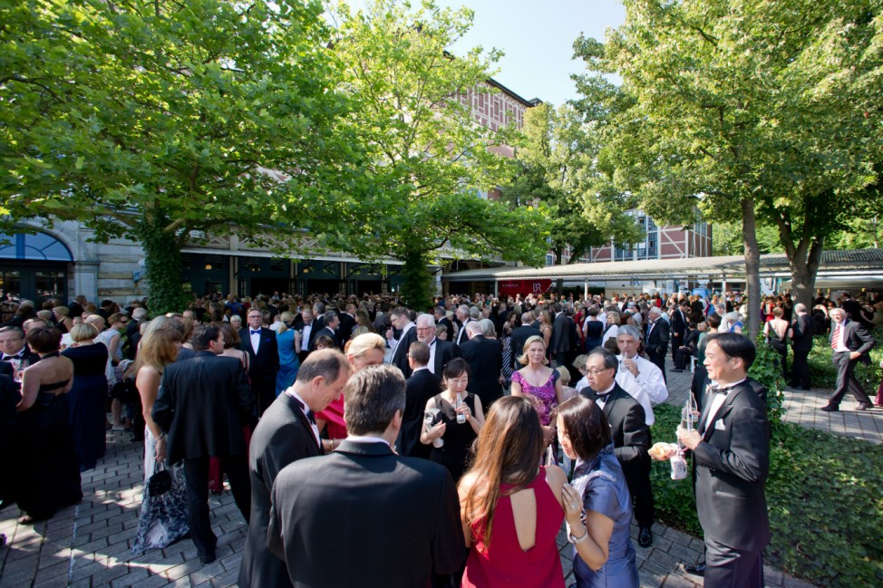 103. Bayreuther Festspiele - Eröffnung