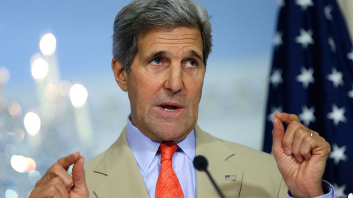 Secretary Kerry Meets With Ukrainian Foreign Minister At The State Department