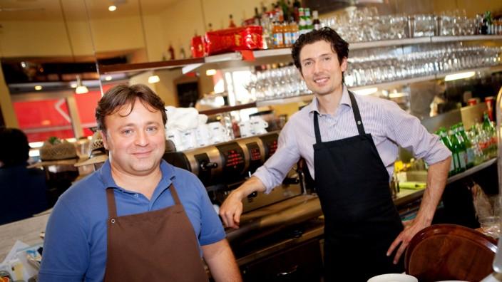 Caff Ristretto, Kazmairstraße 30 im Westend. Happy-Hour-Serie