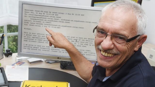 Internet-Pionier Michael Rotert