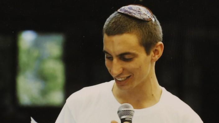 Undated handout of Israeli soldier Hadar Goldin