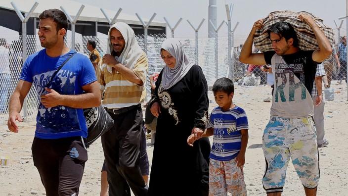 Nordirak: Flucht aus Mossul im Nordirak