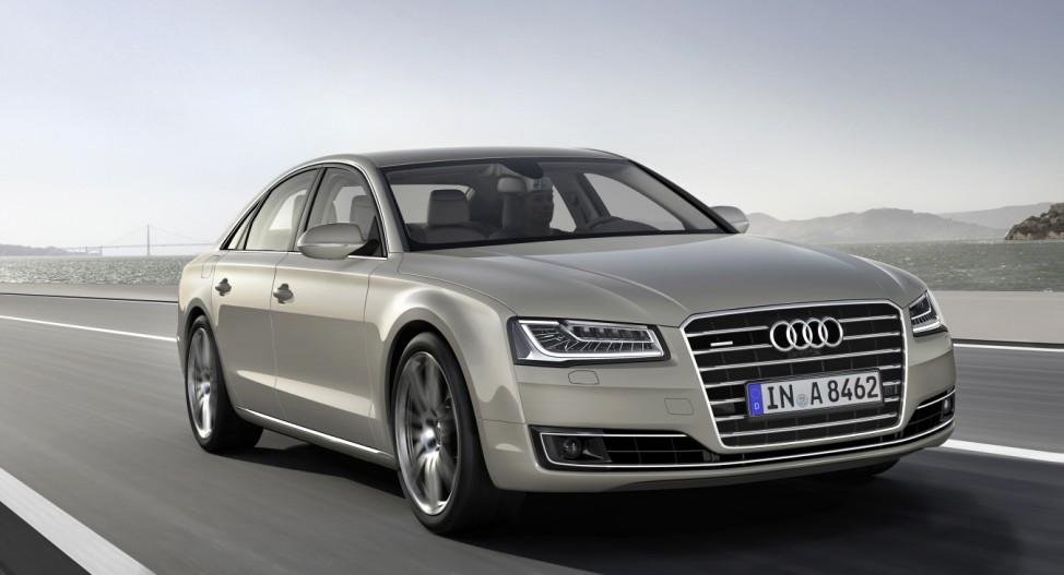 Der Audi A8 seit dem Facelift 2013.
