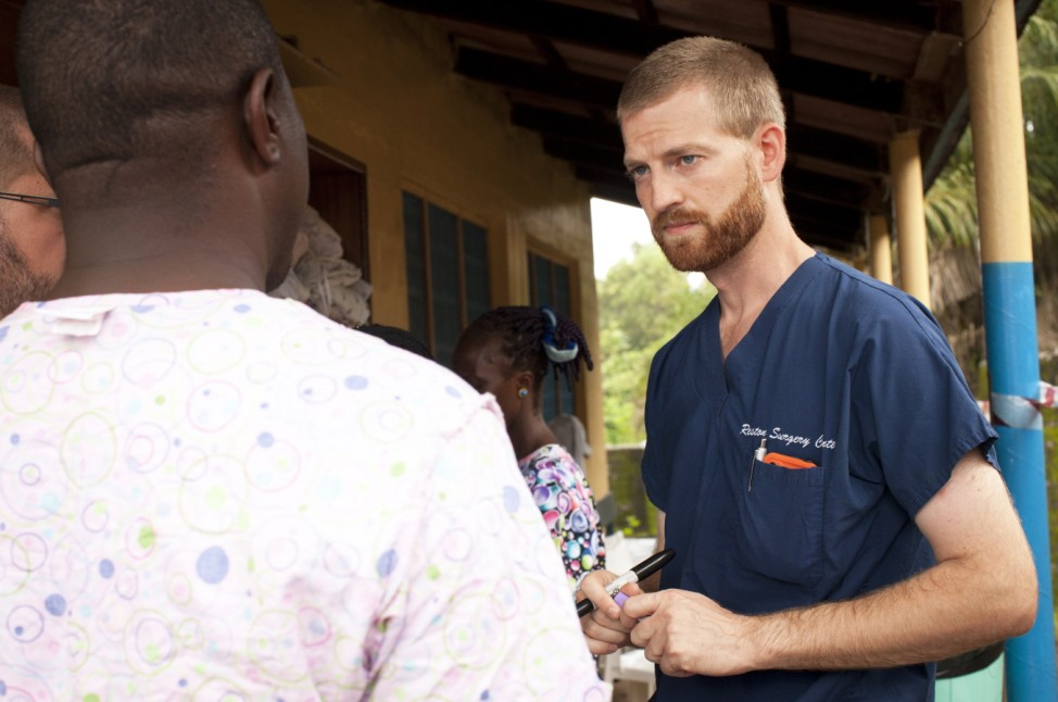 Ebola Stricken Dr. Kent Brantly In Liberia