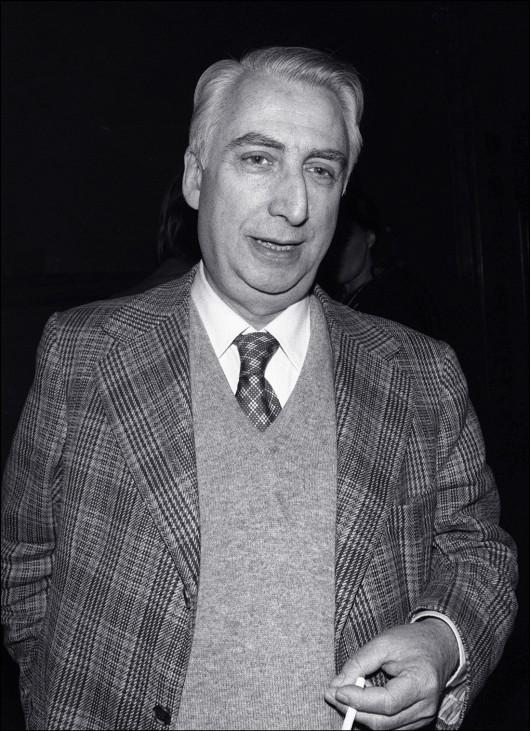 Roland Barthes im Juni 1977 in Paris.