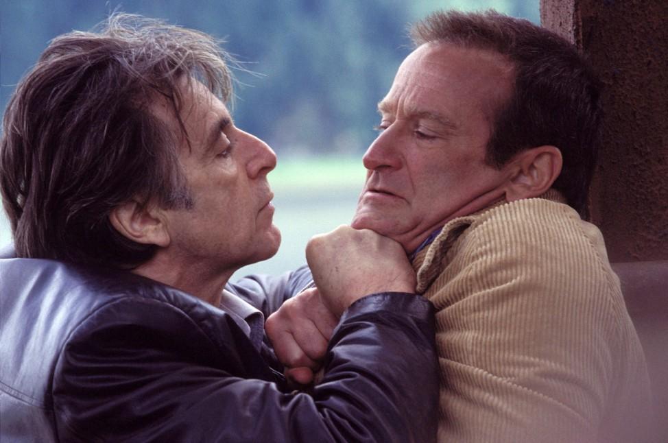 """Al Pacino and Robin Williams in dem Film """"Insomnia"""""""