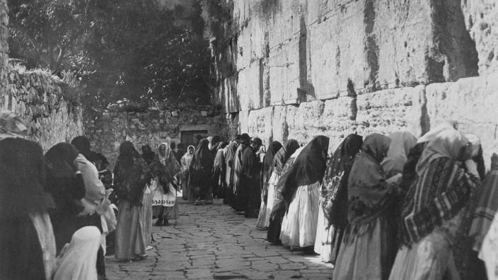 Juden an der Klagemauer, 1931