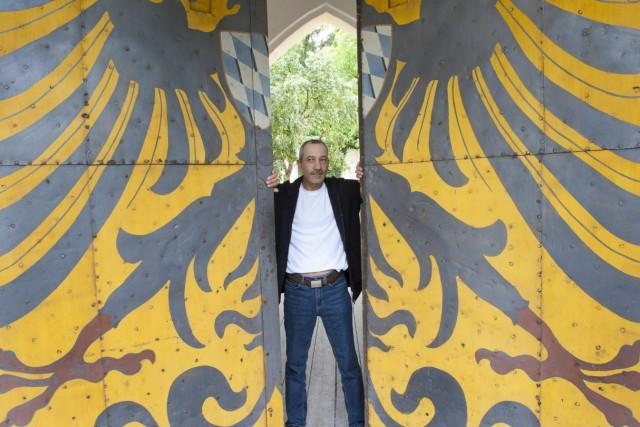 Grünwald, Burg, Kastellan Robert Heinzl,