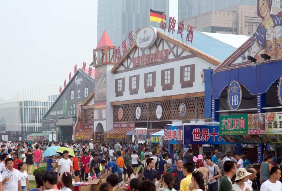 Oktoberfest in China