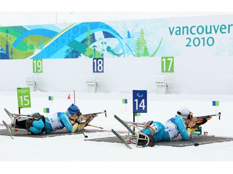 Paralympics Biathlon, getty