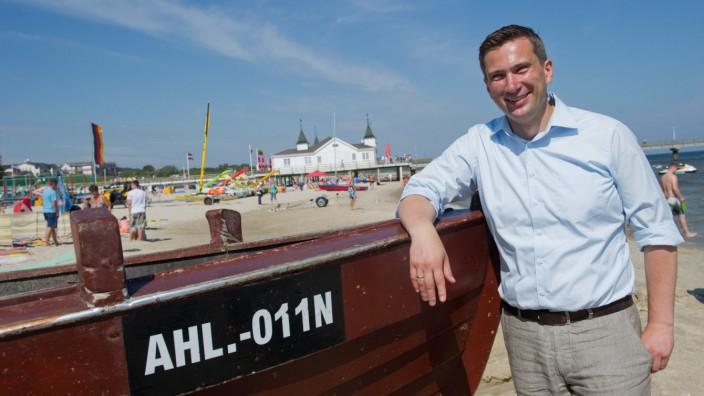 SPD-Wahlkampf an der Ostsee