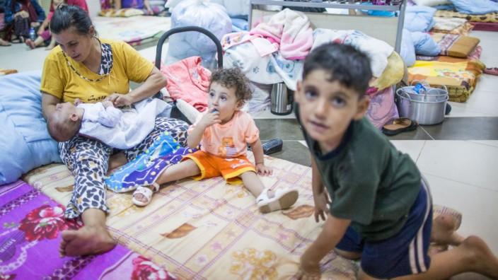 Christliche Flüchtlinge Erbil Irak