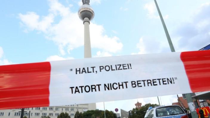 Messerstecherei in Berlin