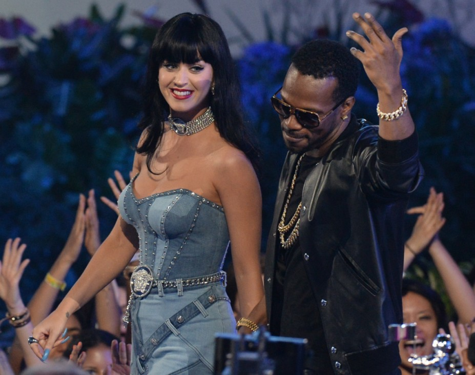 Katy Perry mit Juicy J. bei den MTV Video Awards